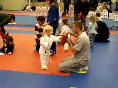Karate kid!