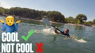 DUDE PERFECT OVERTIME | COOL NOT COOL | HUMAN KAYAK