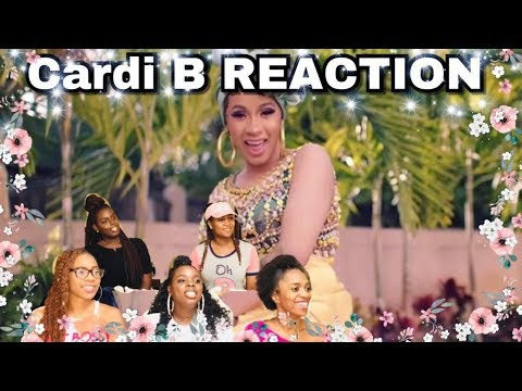 **Cardi B ft. Bad Bunny & J Balvin - I Like It Official Music Video** Reaction