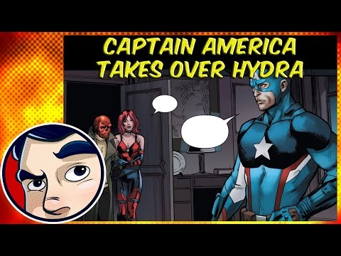 "Captain America Takes Over Hydra ""Secret Empire Begins"" - ANAD Complete Story"