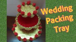Wedding packing Tray / wedding decoration