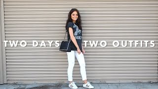 2 days 2 outfits || weronika