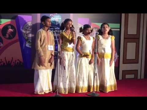 Devika Mohan in Mathrubhumi Mumbai Group song