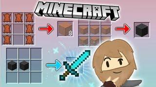 Minecraft, ale diamentowy miecz ma dziwny crafting ️ Strumykowo E5