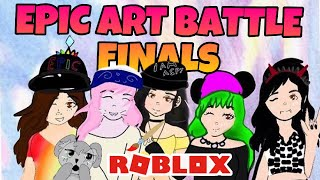 ROBLOX   EPIC ART BATTLE FINALS!   [VOTING CLOSED]