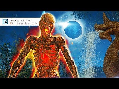 """SHANGRI-LA: Cómo Hacer el EASTER EGG """"El Viaje en el Tiempo lo Dirá"""" / Zombies Chronicles"""