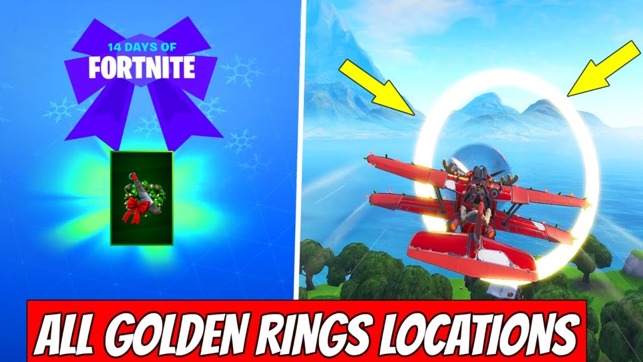 Fly Through Golden Rings In An X 4 Stormwing Plane All 5 Locations