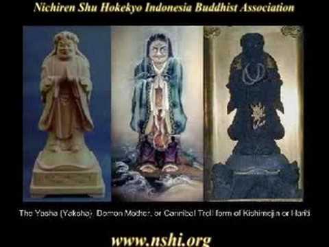 Kishimojin Vow In Lotus Sutra