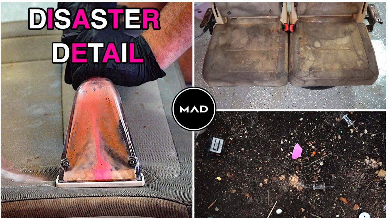 Restoring The Nastiest Ford Flex | Extreme Interior Extraction | Insane Deep Cleaning Transformation