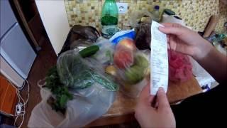 Пример продуктовой корзины - сколько стоит в Сочи?