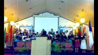 BBC Sta. Mesa CHOIR - The Morning Light is Breaking  - 23Nov08