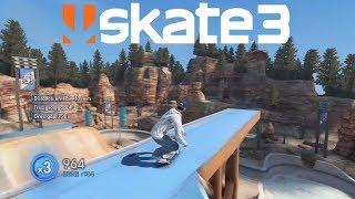 Skate 3 Mega R Experiences jump record