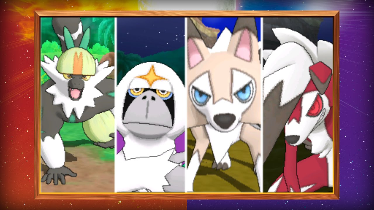 pokémon sun vs moon