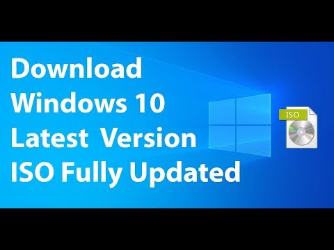 How To Download Windows 10 Update 1903 ISO File From Microsoft Official  WebSite 2019 !