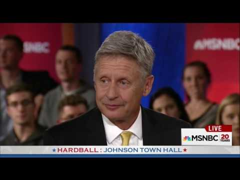 Gary Johnson struggles to name his favorite foreign leader