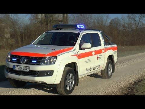 Neuer VW Amarok HvO DRK Bereitschaft Weilheim/Teck