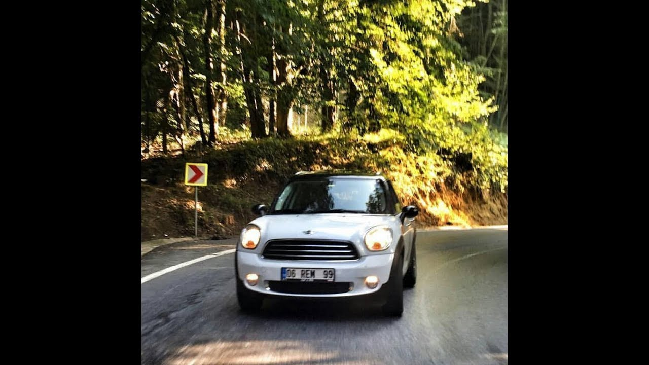 2012 Mini Cooper Countryman 16 122hp Otomatik Vites Test Ve