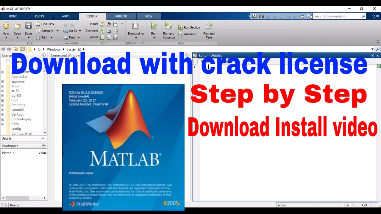 matlab 2017 free download for windows 7 32 bit