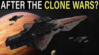 What happened to REPUBLIC CAPITAL SHIPS after the Clone Wars? | Star Wars Lore