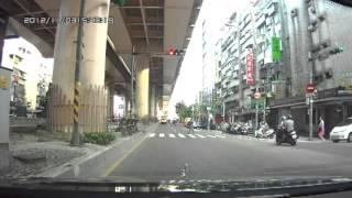 市民大道行人與機車車禍