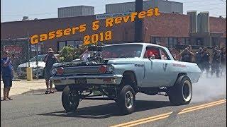 Gassers 5 Rev Fest Car Show 2018