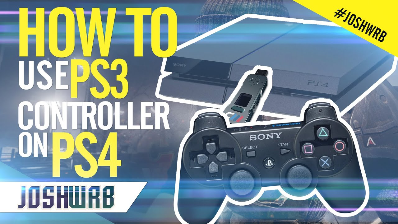 how to make the ps4 controller work on ps3