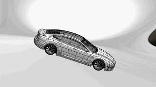 Tesla  car modelled in SOLIDWORKS,