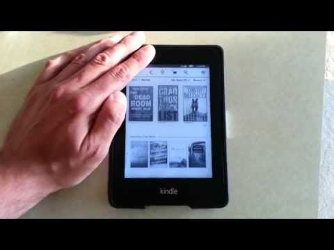 Amazon Kindle Paperwhite 3G Hack - How to use Experimental Browser on 3G