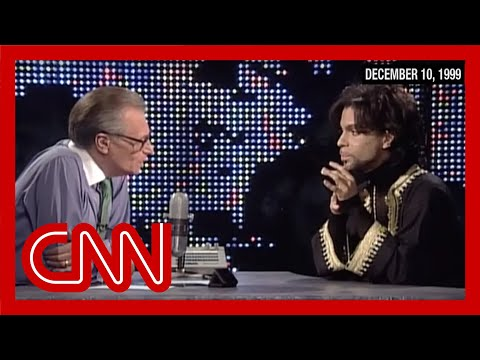 Prince Rogers Nelson's entire 1999 CNN interview (Larry King