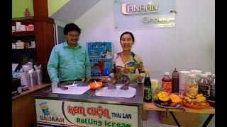 Quảng cáo máy Kem cuộn Thái Lan - Hương Vị Đồng Quê - Bến Tre - Miền Tây