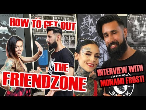 HOW TO GET OUT THE FRIENDZONE? | Amsterdam Tattoo Convention 2017 (OMG! I met Monami Frost!)