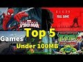 Top 5 Best Highly Compressed Games For PC Under 100MB 100% Working With Proof 2018