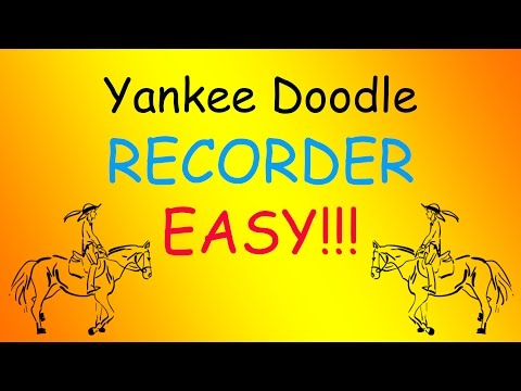 Yankee Doodle-Recorder (Easy)