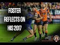 Foster Reflects On His 2017