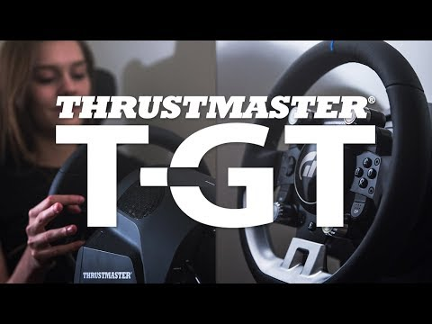 THRUSTMASTER T-GT REVIEW! THRUSTMASTER T-GT RACESTUUR! (Gran Turismo Sport Review)