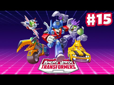 Angry Birds Transformers - Gameplay Walkthrough Part 15 - Energon Optimus Prime Rescued! (iOS)