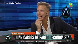 Juan Carlos de Pablo mano a mano con Fantino (20/11/19)