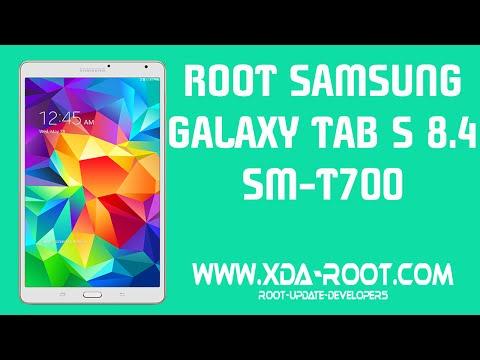 ROOT SAMSUNG GALAXY TAB S 8 4 SM-T700 - YouTube