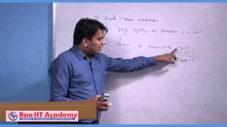Titration Part 1 - IIT JEE Main and Advanced Chemistry Video Lecture
