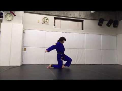 Single movement:柔術  ムーブメント 一人打ち込み マット運動