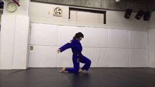 Single movement:柔術  ムーブメント 一人打ち込み マット運動 thumbnail