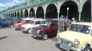 LONDON TO BRIGHTON MINI RUN THE EARLY ARRIVERS FROM CRYSTAL PALACE