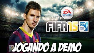 FIFA 15 - Jogando a DEMO, o que mudou?