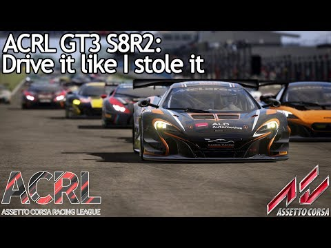 ACRL GT3 S8R2: Driving it like I stole it (650 GT3 @ Donington Nat.)