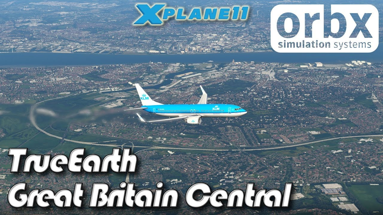Orbx TrueEarth Great Britain Central for X-plane 11
