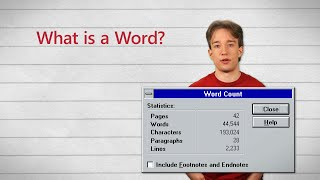 What Counts as a Word?