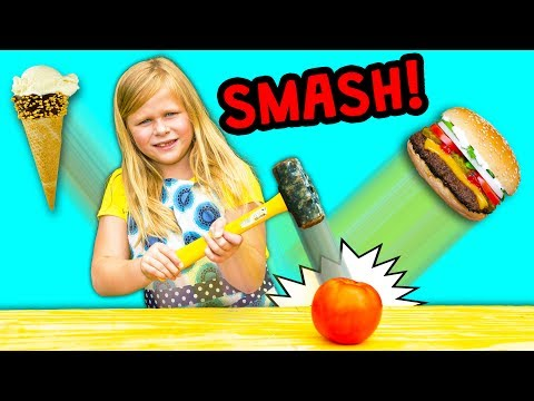 FOOD SMASH Surprise Find Healthy Foods With the  Assistant