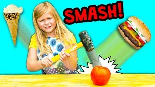 Video FOOD SMASH Surprise Find Healthy Foods With the  Assistant download MP3, 3GP, MP4, WEBM, AVI, FLV Februari 2018