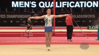 HRYKO Vladyslav (UKR) - 2015 Artistic Worlds - Qualifications Floor Exercise