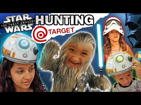 EPIC FAMILY FUN! Star Wars Hunting @ Target w/ Mike-Bacca & BB Chase (The Force Awakens Vlog)